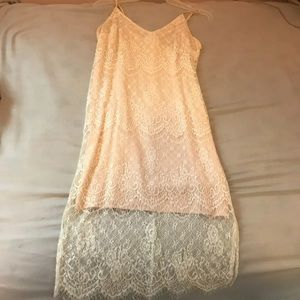 Camisole lace dress from forever 21